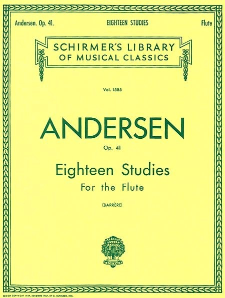 Eighteen Studies - Karl Joachim Andersen - CONSULTAR STOCK