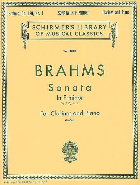 Sonata in F Minor, Op. 120, No. 1 - Johannes Brahms