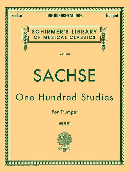 One Hundred Studies for Trumpet - Ernst Sachse