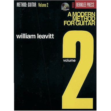Método Moderno De Guitarra Vol. 2 + CD - William Leavitt  CONSULTAR STOCK