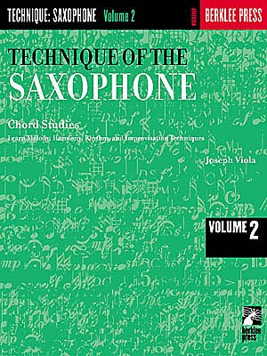 Technique of the Saxophone - Vol. 2 - Joseph Viola - CONSULTAR STOCK