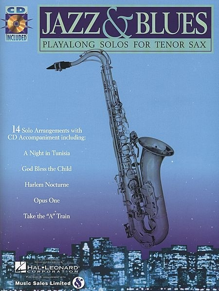 Jazz & Blues Saxo Tenor - AUTORES VARIOS - CONSULTAR STOCK