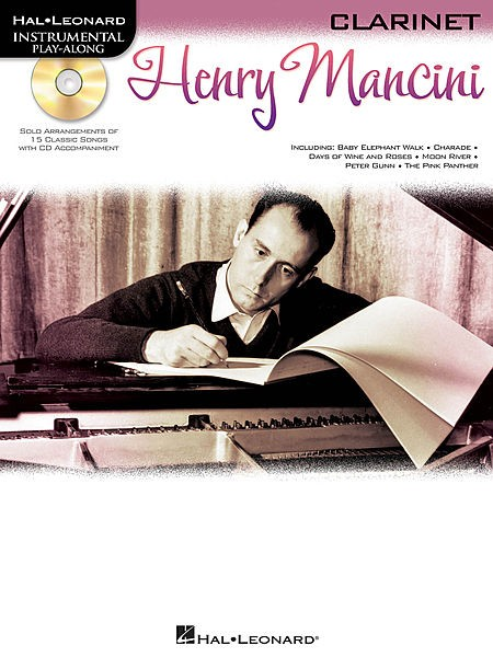 Henry Mancini - Album Play-Along - Clarinete - CONSULTAR STOCK