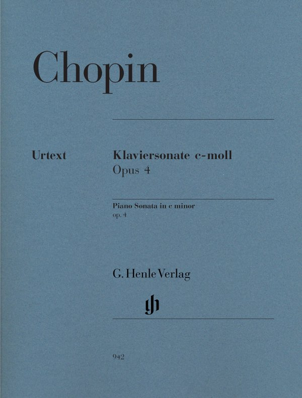 Klaviersonate - Do mayor - Op. 4 - Chopin CONSULTAR STOCK