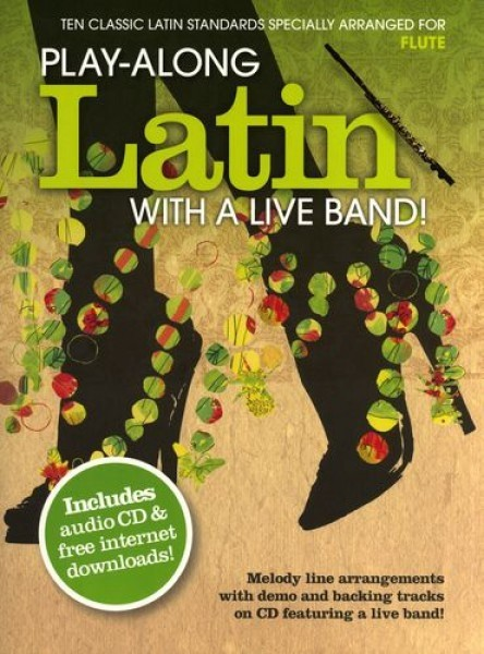 LATIN WITH A LIVE BAND -FLUTE - CONSULTAR STOCK