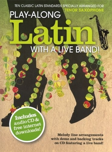 LATIN WITH A LIVE BAND -TENOR  SAXOPHONE - CONSULTAR STOCK