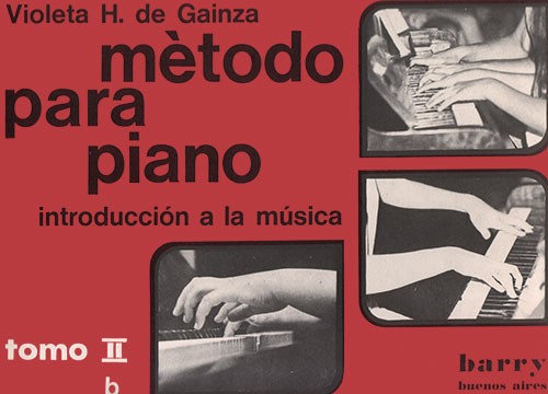 METODO de PIANO - Vol. 2º B - GAINZA