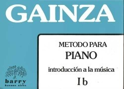 METODO de PIANO - Vol. 1º B - GAINZA