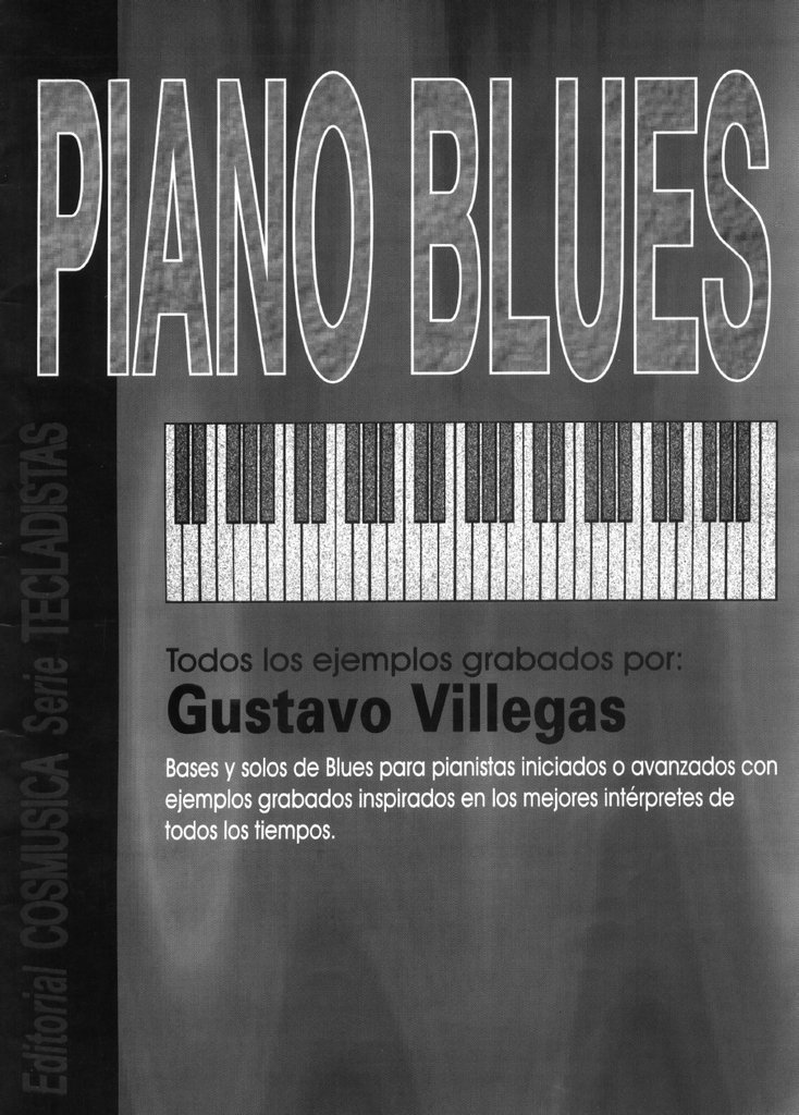 PIANO BLUES - ( c/DVD ) - VILLEGAS