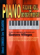 PIANO ROCK N´ROLL & BOOGIE WOOGIE ( c/CD ) - VILLEGAS