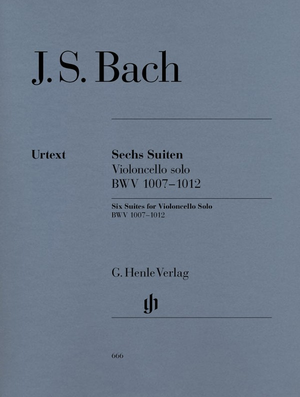 Sechs Suiten - BWV. 1007 / 1012 - Bach CONSULTAR STOCK