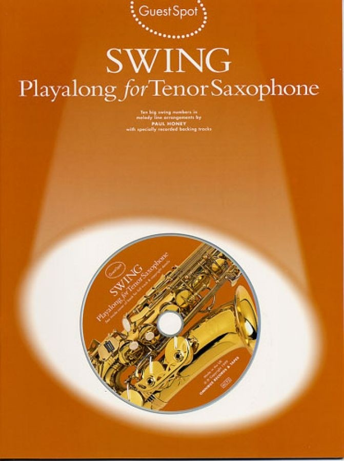 SWING PLAYALONG FOR TENOR SAXOPHONE -  CONSULTAR STOCK