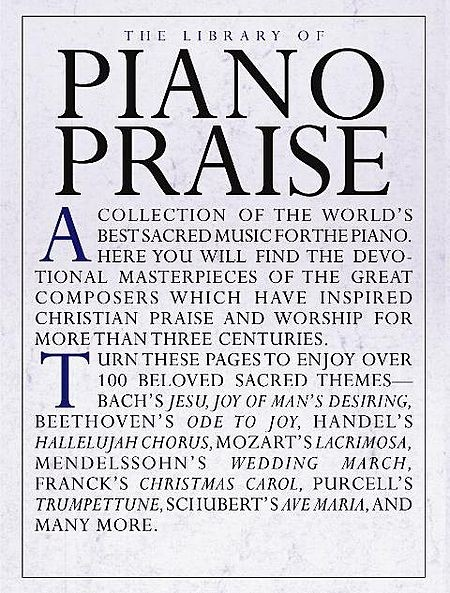 THE LIBRARY OF PIANO PRAISE - AUTORES VARIOS CONSULTAR STOCK