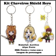 Chaveiros Shield Hero