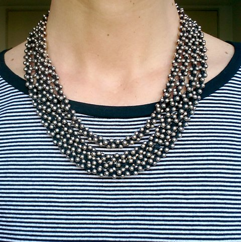 Duo Collar | SINFIN | metal plateado
