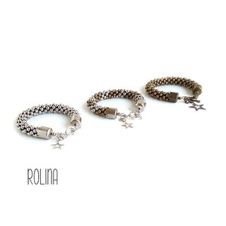 Pulsera | BROOCH | metal x3