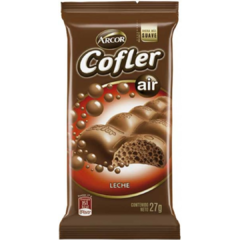 Chocolate Cofler Aireado Leche x 27gr