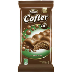 Chocolate Cofler Aireado Almendras x 27gr