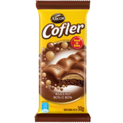 Chocolate Cofler Aireado Bon o Bon x 30gr