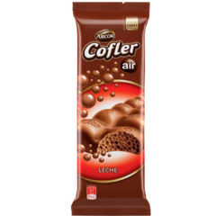 Chocolate Cofler Aireado Leche x 100gr