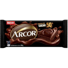 Chocolate Arcor 50% Cacao x 100gr
