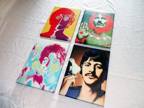 Cuadro de The Beatles