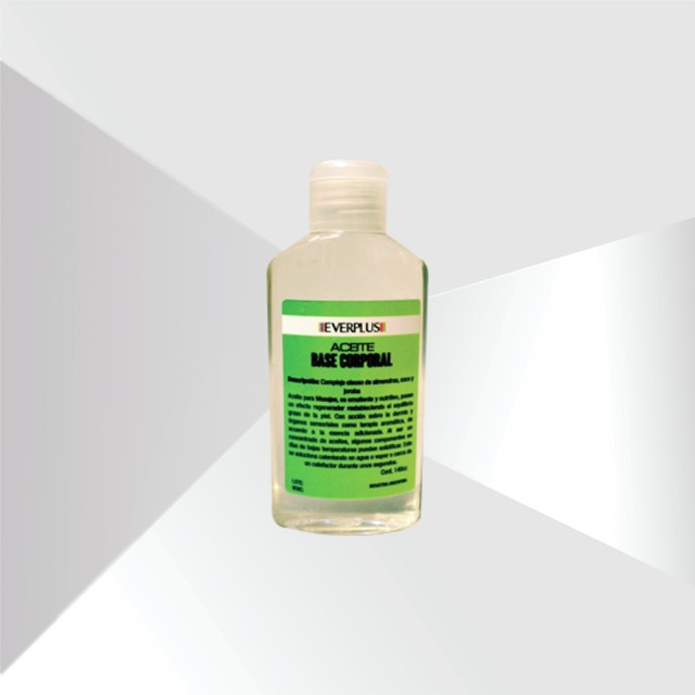 Aceite Base Corporal Everplus, 140cc.