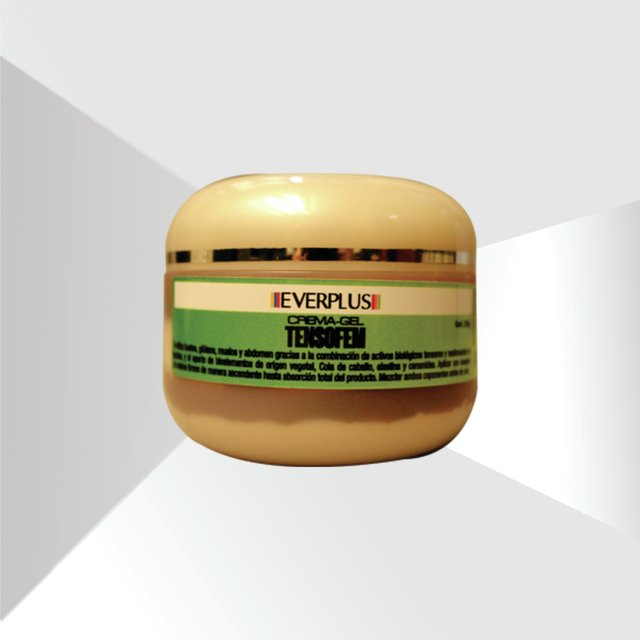 Tensofem, Crema-Gel reafirmante. Everplus, 250 gramos