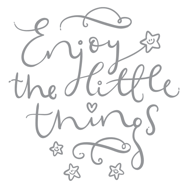 Vinilo Enjoy the little things neutrales en internet