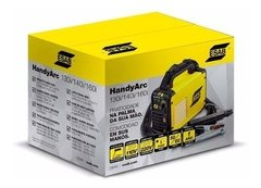 Soldadora Inverter Esab Handy Arc160i + Careta Esab A20 - Abastecimiento Industrial On Line