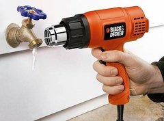 Pistola De Calor 2 Temperaturas 1500w Hg1500 Black & Decker en internet