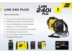 Soldadora Inverter Conarco Esab Lhn 240i Plus + Máscara A20 - Abastecimiento Industrial On Line