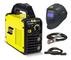 Soldadora Inverter Esab Handy Arc160i + Careta Esab A20