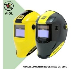 Careta Fotosensible Conarco Esab Warrior Tech Amarilla