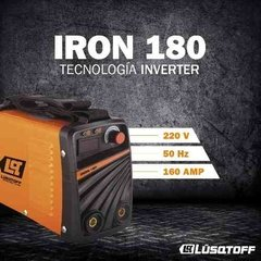Soldadora Inverter Lusqtoff Iron-180 + Regalo Hot Sale en internet