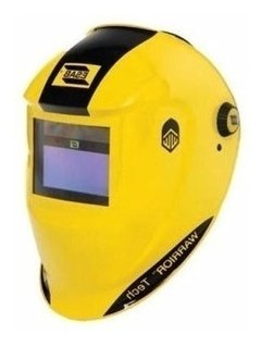 Careta Fotosensible Conarco Esab Warrior Tech Amarilla - Abastecimiento Industrial On Line