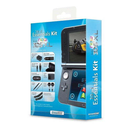Kit 20 en 1 para New 3ds