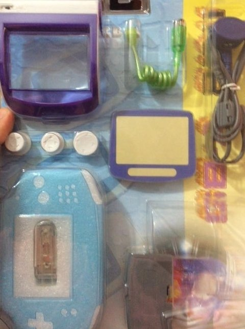 Kit 8 en 1 para Gameboy Advance