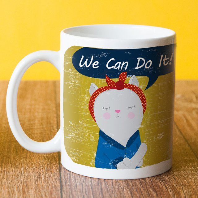 Caneca We Can Do It na internet