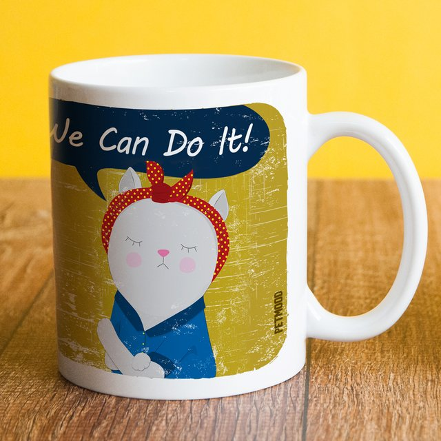 Caneca We Can Do It - Petmood