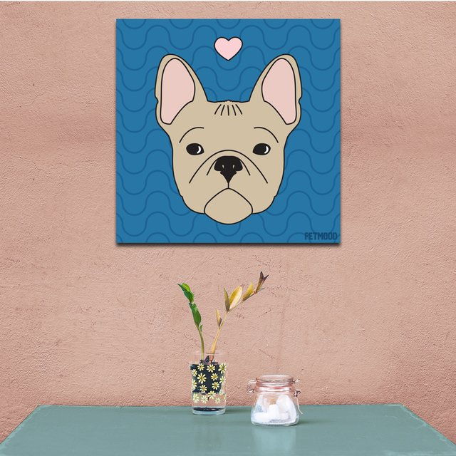 quadro buldogue frances