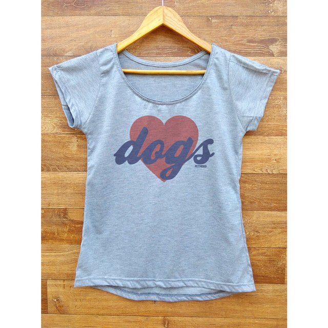 Camiseta Feminina Love Dogs