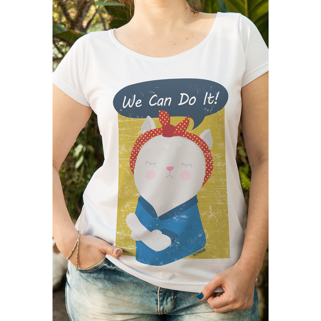T-Shirt Feminina We Can Do It