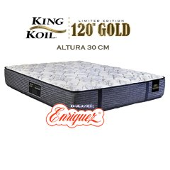COLCHON RESORTES KING KOIL 120 GOLD FIRM 140X190X30