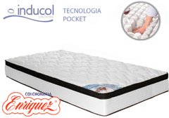 COLCHON  RESORTES INDUCOL POCKET FIRM 100X190
