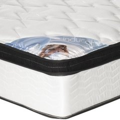 COLCHON RESORTES INDUCOL POCKET FIRM 160X200 + SOMMIER en internet