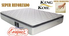 COLCHÓN RESORTES KING KOIL XL ADVANCE 200X200