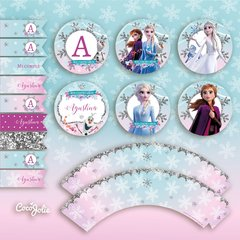 Kit Frozen 2. Imprimible personalizable en internet