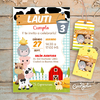 Kit Animalitos de la Granja. Imprimible Personalizable