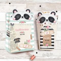 Panda Love and Relax - CocoJolie Kits Imprimibles